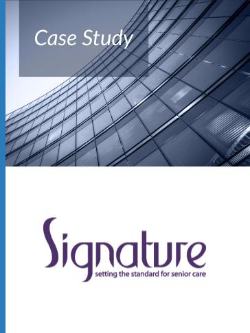 Case Study Signature Senior Lifestyle